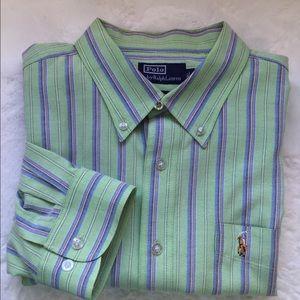 RALPH LAUREN POLO Button Down Men's Shirt